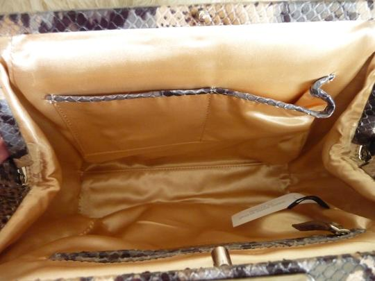Ann Taylor Tote in Brown, Beige, Gray, Black, Cream Image 7