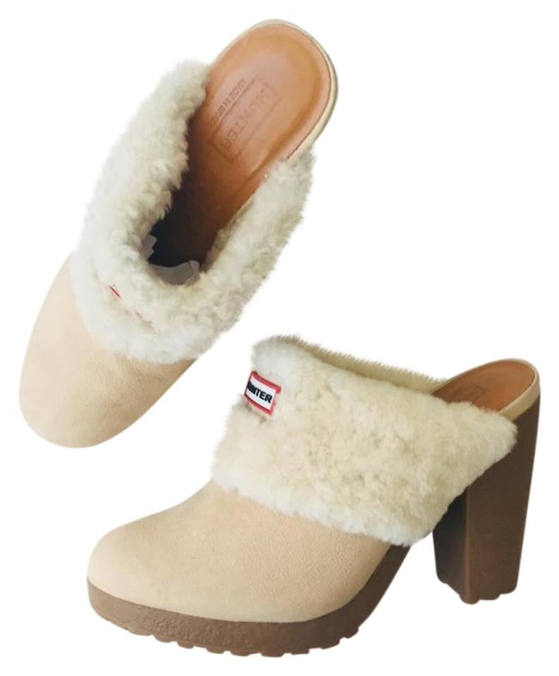 women Hunter Nice Cream Tan Bruson' Mules/Slides Nice Hunter and charming 7aeecc