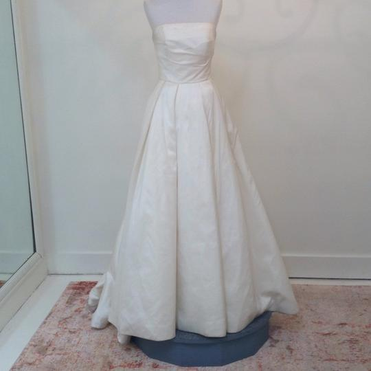 Ivory Silk Marilyn Traditional Wedding Dress Size 4 (S) Image 1