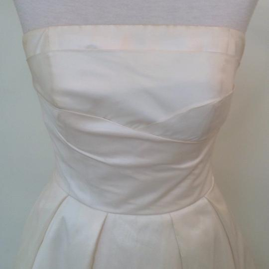 Ivory Silk Marilyn Traditional Wedding Dress Size 4 (S) Image 2