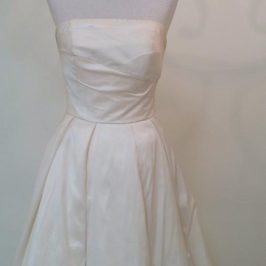 Ivory Silk Marilyn Traditional Wedding Dress Size 4 (S) Image 4