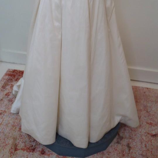 Ivory Silk Marilyn Traditional Wedding Dress Size 4 (S) Image 5