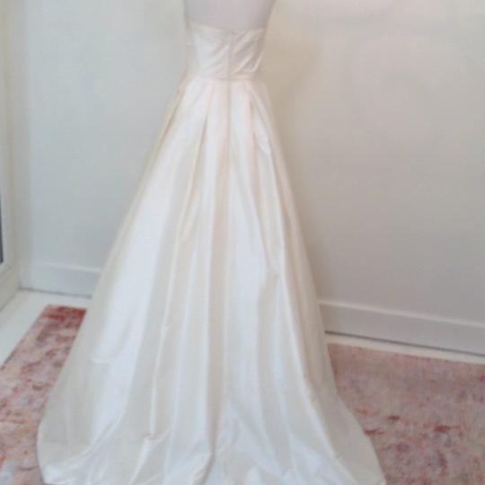 Ivory Silk Marilyn Traditional Wedding Dress Size 4 (S) Image 6