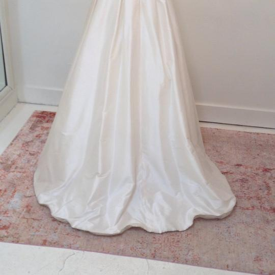 Ivory Silk Marilyn Traditional Wedding Dress Size 4 (S) Image 7