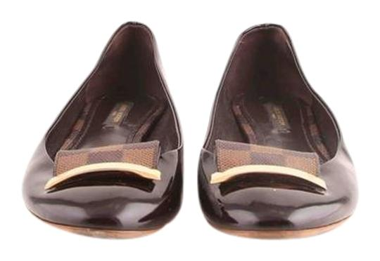 Louis Vuitton Brown Flats Image 0