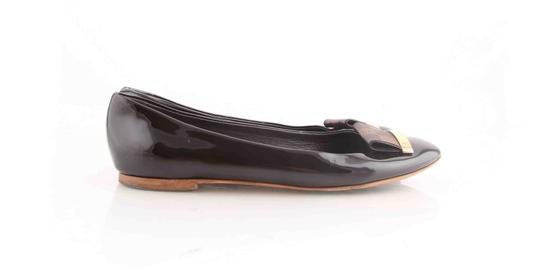 Louis Vuitton Brown Flats Image 2