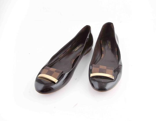 Louis Vuitton Brown Flats Image 6