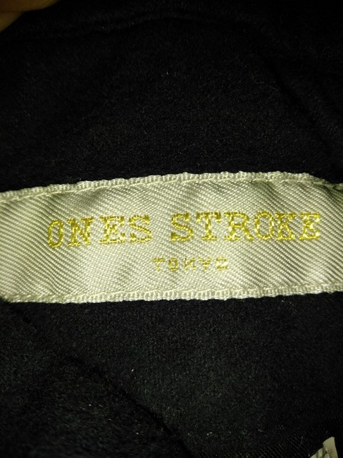 One's stroke Relaxed Pants Black Image 4