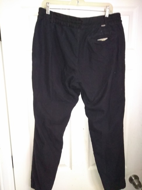 One's stroke Relaxed Pants Black Image 5