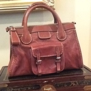Chloe Satchel in Whiskey