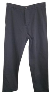 Universal works Straight Pants Black dark blue