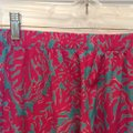 Lilly Pulitzer Wide Leg Pants Fuchsias and turquoise Image 2