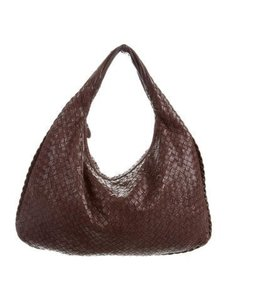 Bottega Veneta Bottega Kid Leather Leather Hobo Bag