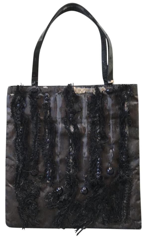 5a2e60d01754 Prada Cocktail Evening Holiday Mini Tote in Metallic Brown Image 0 ...