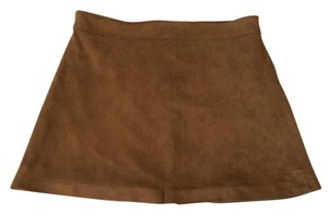 Altar'd State Size Small Mini Skirt Brown