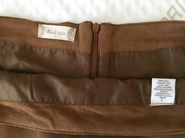Altar'd State Size Small Mini Skirt Brown Image 2