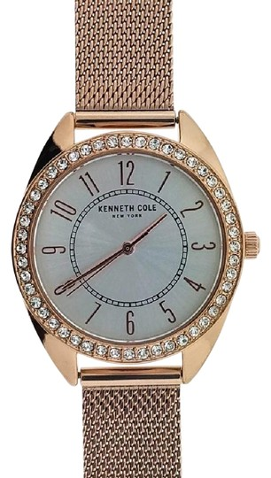 Preload https://img-static.tradesy.com/item/22318471/kenneth-cole-rose-gold-mesh-band-kc50051001-women-s-with-white-analog-watch-0-1-540-540.jpg