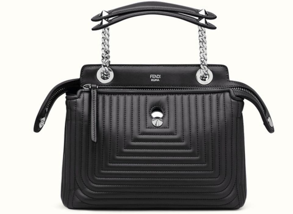 Fendi Black Dotcom Bag