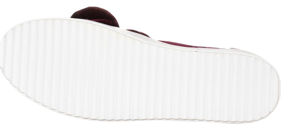 Rebecca Minkoff Red Stacey Burgundy Studded Fashion Snakers Burgundy Stacey Sneakers 021a56