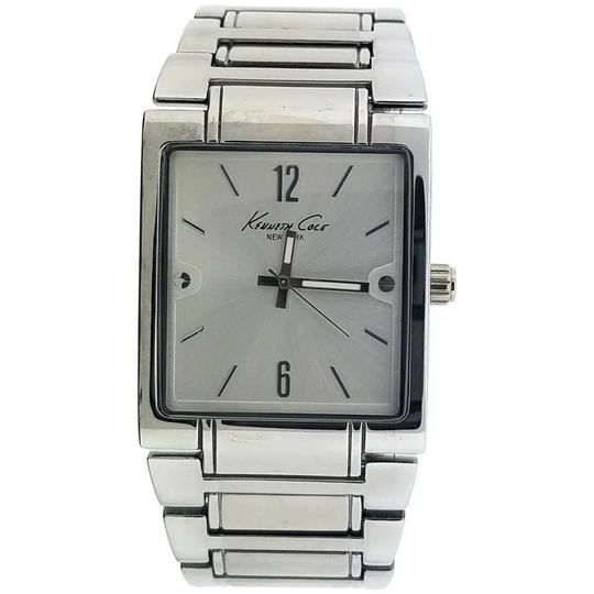 Kenneth Cole 10019416 Men's Silver Steel Band With Silver Analog Dial Image 1