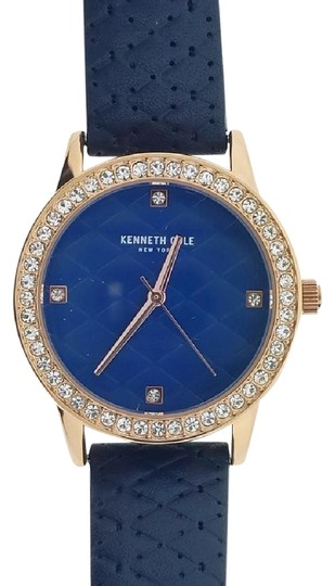 Preload https://img-static.tradesy.com/item/22318667/kenneth-cole-blue-leather-band-kcc0060003-women-s-with-analog-dial-watch-0-1-540-540.jpg