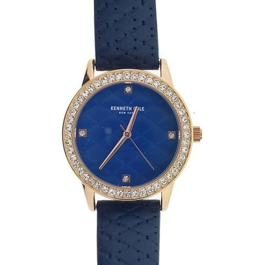 Kenneth Cole KCC0060003 Women's Blue Leather Band With Blue Analog Dial Image 1