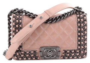 Chanel Calfskin Shoulder Bag