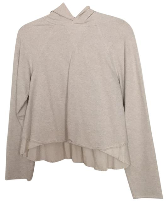 Item - Beige Creme Sweater Activewear Outerwear Size 4 (S)