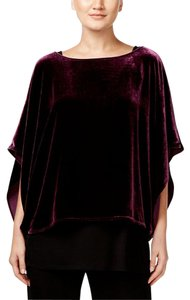 Eileen Fisher Top Raisinette Purple