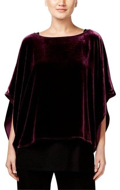 Preload https://img-static.tradesy.com/item/22318957/eileen-fisher-raisinette-purple-kimono-velvet-sleeve-ballet-neck-xxs-blouse-size-00-xxs-0-3-650-650.jpg