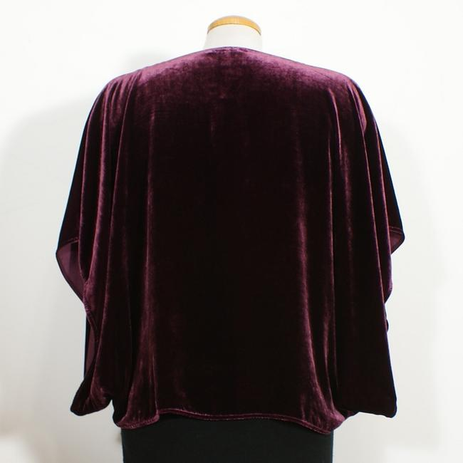 Eileen Fisher Top Raisinette Purple Image 1