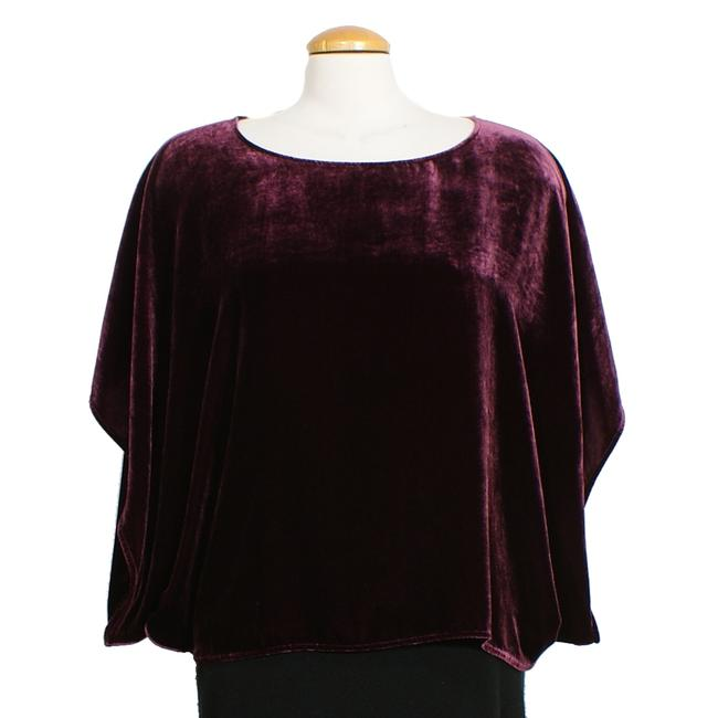 Eileen Fisher Top Raisinette Purple Image 3