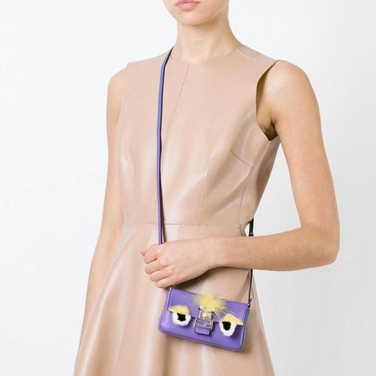 Fendi Baguette Micro Eyes Monster Cross Body Bag Image 10