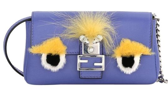 Fendi Baguette Micro Eyes Monster Cross Body Bag Image 2