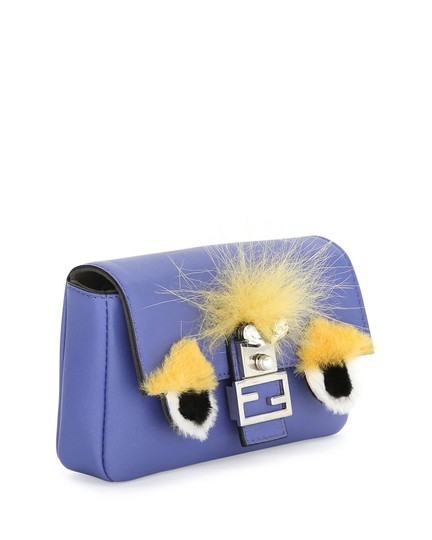 Fendi Baguette Micro Eyes Monster Cross Body Bag Image 4