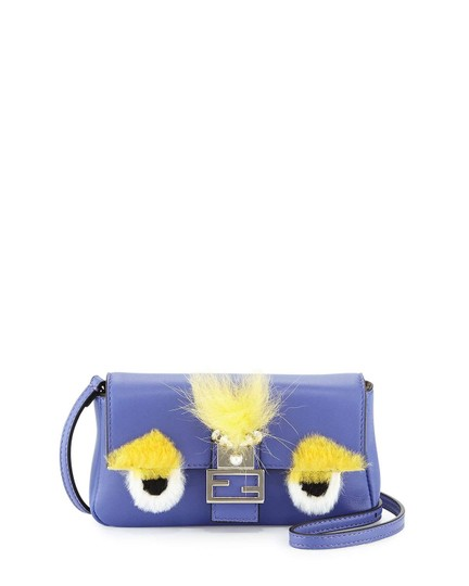 Fendi Baguette Micro Eyes Monster Cross Body Bag Image 6