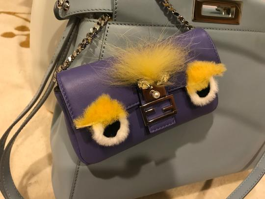 Fendi Baguette Micro Eyes Monster Cross Body Bag Image 8