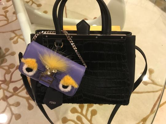 Fendi Baguette Micro Eyes Monster Cross Body Bag Image 9