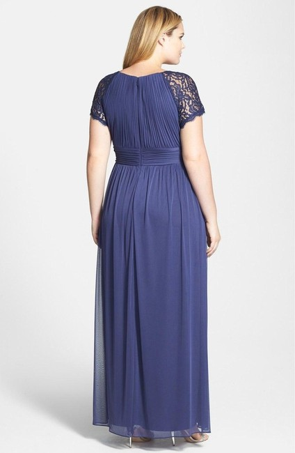 Adrianna Papell Plus-size Jersey Cap Sleeve Dress Image 1
