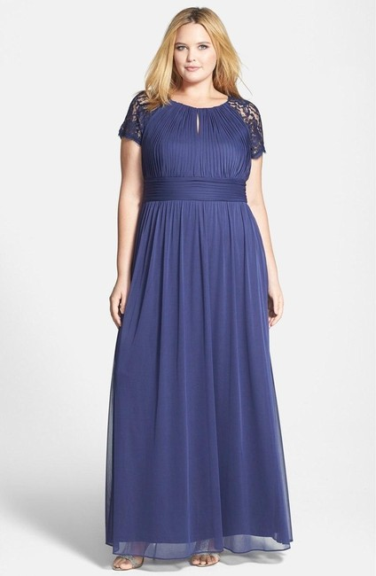 Adrianna Papell Plus-size Jersey Cap Sleeve Dress Image 2