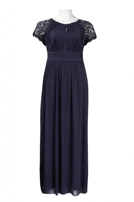 Adrianna Papell Plus-size Jersey Cap Sleeve Dress Image 5
