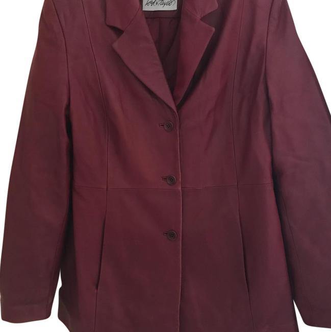 Preload https://img-static.tradesy.com/item/22319263/lord-and-taylor-maroon-leather-jacket-size-12-l-0-1-650-650.jpg