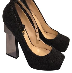Aperlai Paris black Platforms
