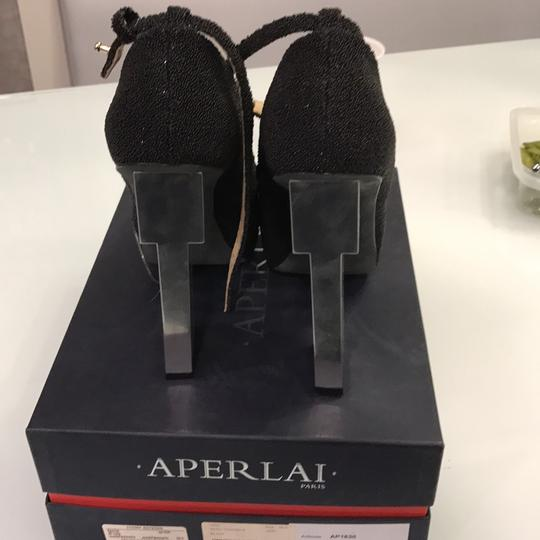 Aperlai Paris black Platforms Image 3
