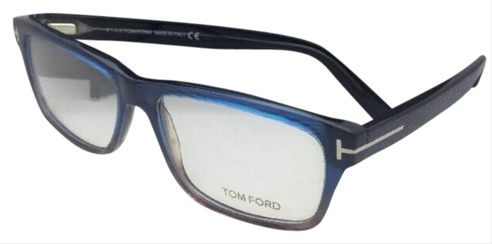 fe72742756486 Tom Ford New TOM FORD Eyeglasses TF 5320 092 56-15 145 Blue Gradient Brown  ...
