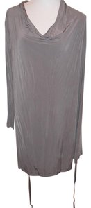 AllSaints short dress gray on Tradesy