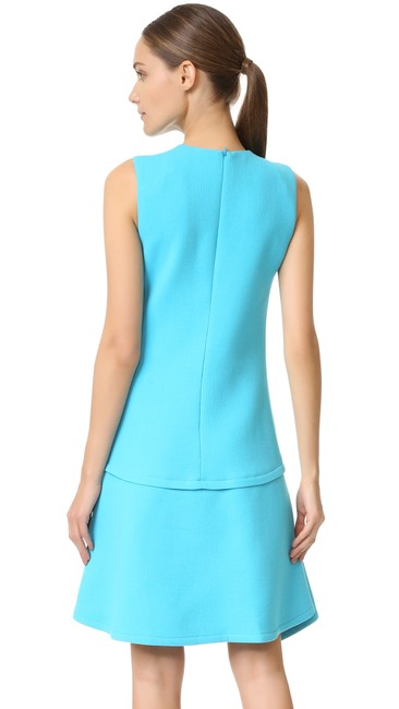 Victoria, Victoria Beckham short dress Ice Blue Draped Party on Tradesy Image 1