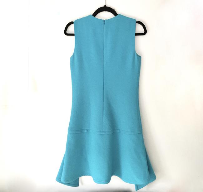 Victoria, Victoria Beckham short dress Ice Blue Draped Party on Tradesy Image 4