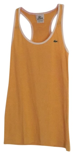 Preload https://img-static.tradesy.com/item/22319764/lacoste-yellow-tank-topcami-size-4-s-0-1-650-650.jpg