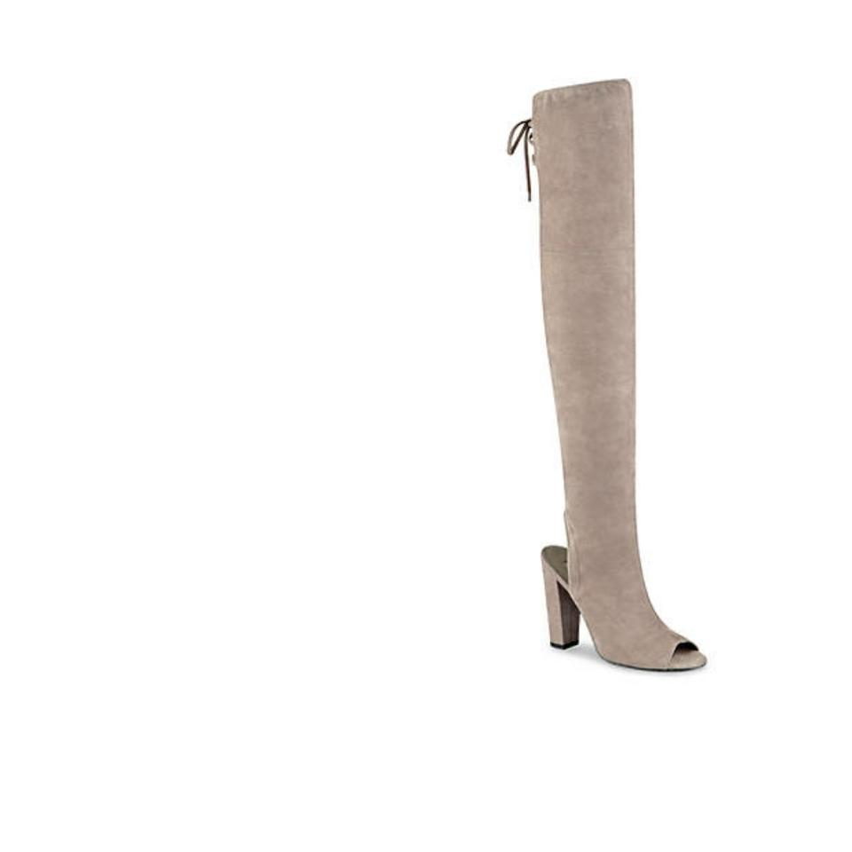 0439ab2b683 Guess By Marciano Grey Suede Over The Knee Boots Booties Size US 8.5 ...